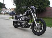 2012 Evo custom chopper. The engine is a 80